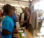 VC Professor Paul K. Wainaina and the entire KU team during the Molo Constituency Career Fair Day at Molo Town in March 2019 6